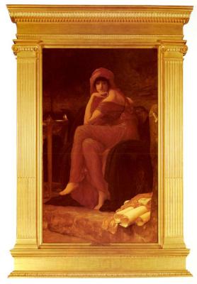 Frederic Leighton. Sibyl (soothsayer)