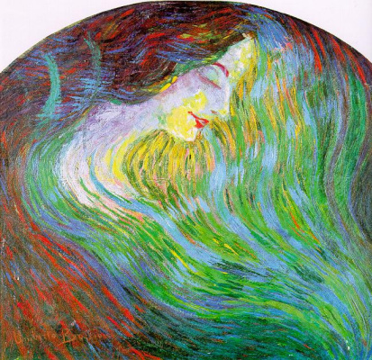 Umberto Boccioni. Girl