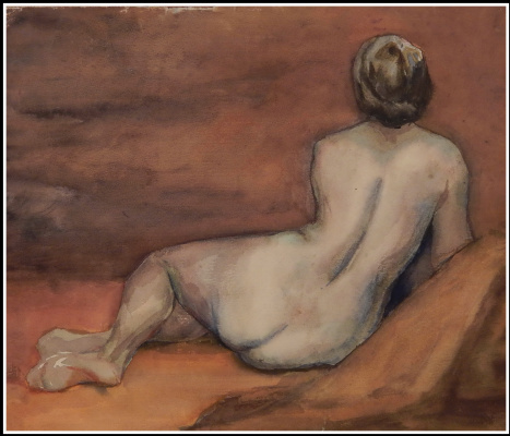 Victor Georgievich Efimenko. The artist's wife. 1975