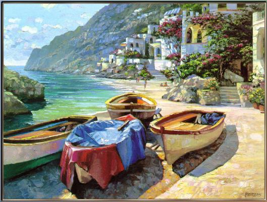 Беренс Говард. В Капри лодки