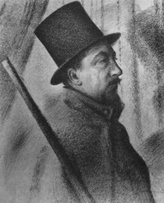 Georges Seurat. Portrait Of Paul Signac