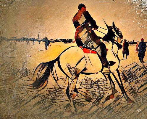 Алексиос  Шандермани. HORSE RIDER