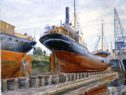 Степан Григорьевич Писахов. Shipbuilding