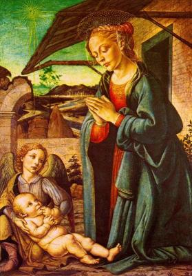 Франческо Боттичини. Младенец