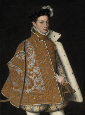 Sofonisba Anguissola. Portrait of Prince Alessandro Farnese