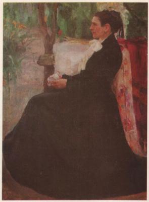 Портрет П.Г.Кричевской,матери художника.1903-1904