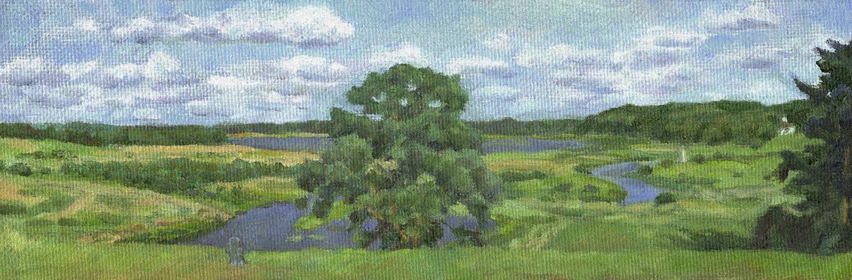 Andrei Ivanovich Borisov. Clouds over Sorotia