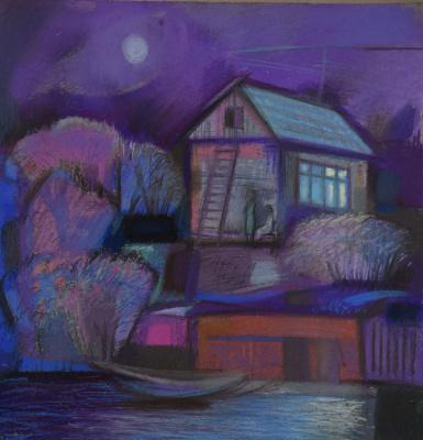 Rumyana Vnukova. Moonlight night
