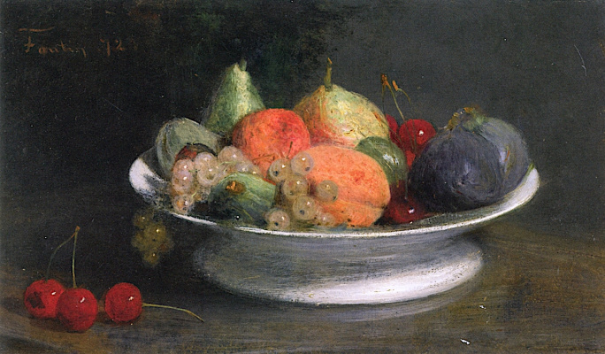 Henri Fantin-Latour. Fruit compote