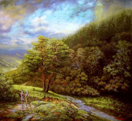 Andrey Domanin. Fresco