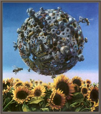 Майк Рассел. Подсолнухи и пчелы