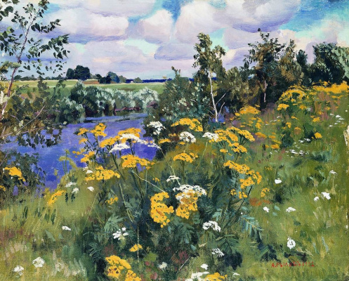 Arkady Alexandrovich Rylov. Field Rowan