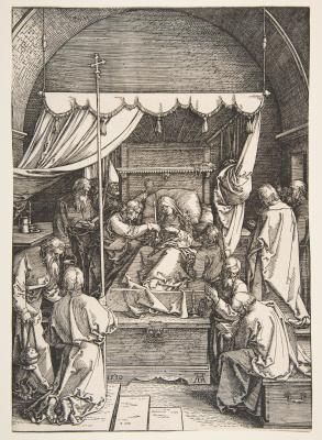 Альбрехт Дюрер. Смерть Марии