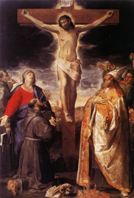 Annibale Carracci. The crucifixion