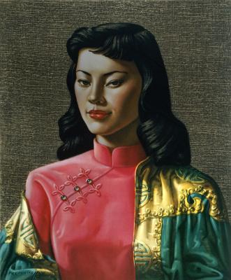 Владимир Григорьевич Третчиков. Мисс Вонг. 1950