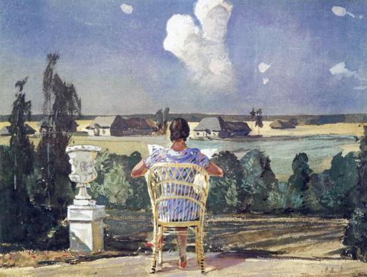 Alexander Alexandrovich Deineka. In the Park