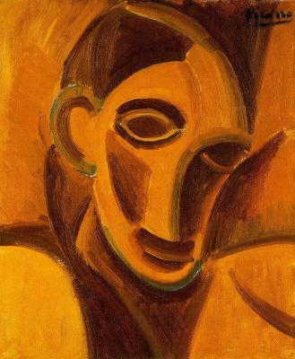 Пабло Пикассо. Обнаженный с салфеткой. Этюд