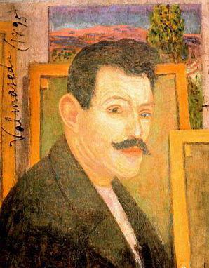 Дарио де Регойос. Self-portrait