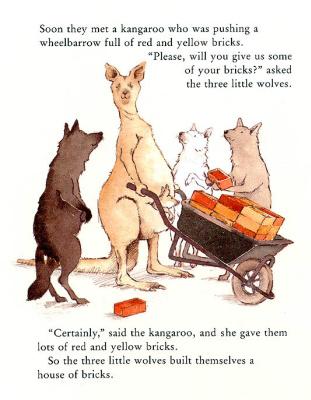 Хелен Охенбуру. Три маленьких волчонка и большой плохой свин 11