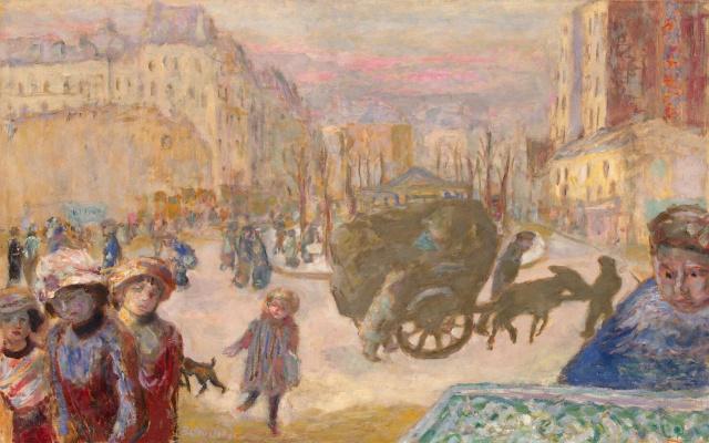 Pierre Bonnard. Morning in Paris