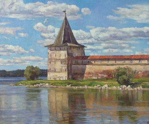 Oleg Borisovich Zakharov. Between the lake and the sky.