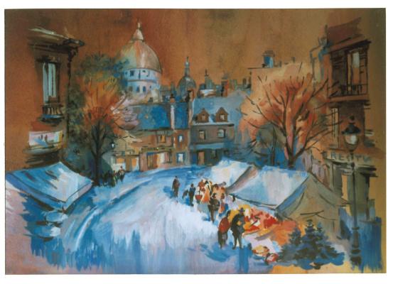 Alexey Yuryevich Maslov. Winter Opera