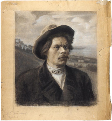 Александр Никитич Парамонов. Портрет А.М. Горького. 1941