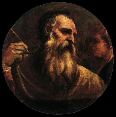 Тициан Вечеллио. Святой Матвей Евангелист