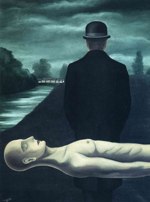 René Magritte. Thoughts of a lone Walker