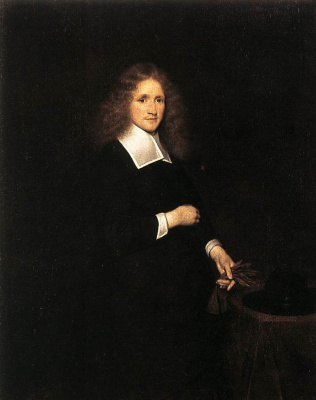 Gerard Terborch (ter Borch). Portrait of a young man