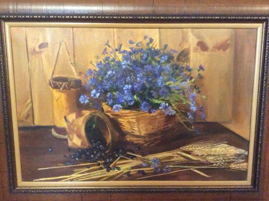 """Vyacheslav Fedorovich Zhemerikin. """"Cornflowers"""""""