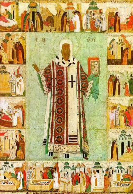 Icon Painting. Metropolitan Alexy