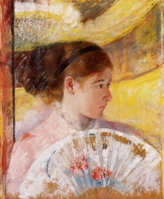 Mary Cassatt. In the theater