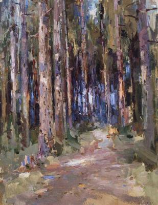 Сергей Федорович Шишко. Смерековый лес