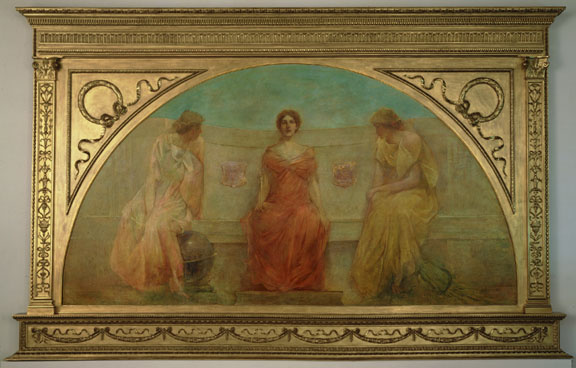 Thomas Wilmer Dewing. Plot 10