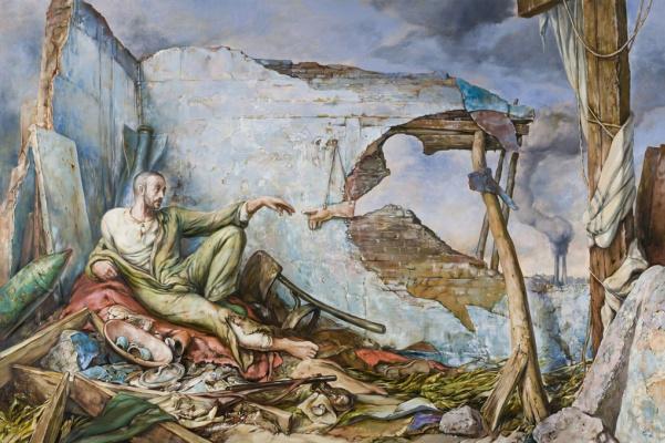 Samuel Bak. Creation of Wartime III