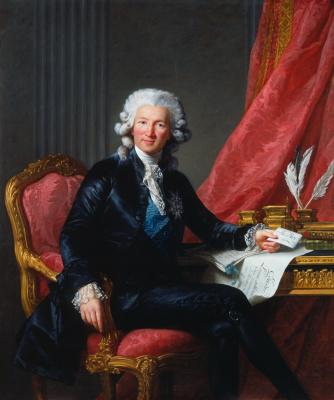 Elizabeth Vigee Le Brun. Portrait of Charles Alexander de Calonne
