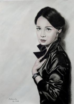 Ekaterina Kabanova. Portrait of Chulpan Khamatova