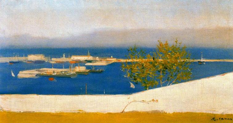 Ramon Casas i Carbó. Pier Puerto de Roses, Spain