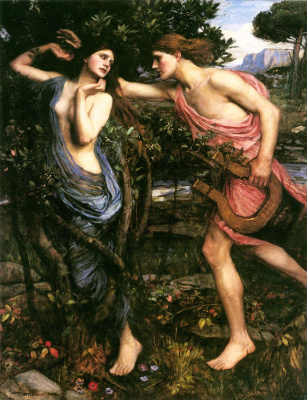 John William Waterhouse. Apollo and Daphne
