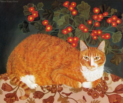Мими Ванг Олсен. Красные ягоды