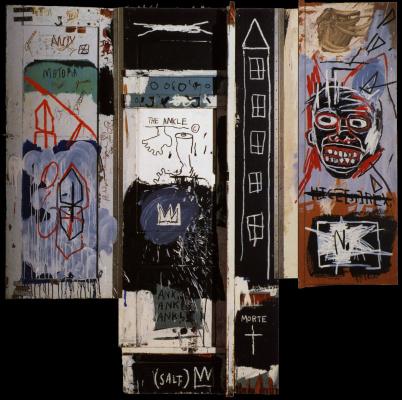 Жан-Мишель Баския. Портрет молодого покинутого художника