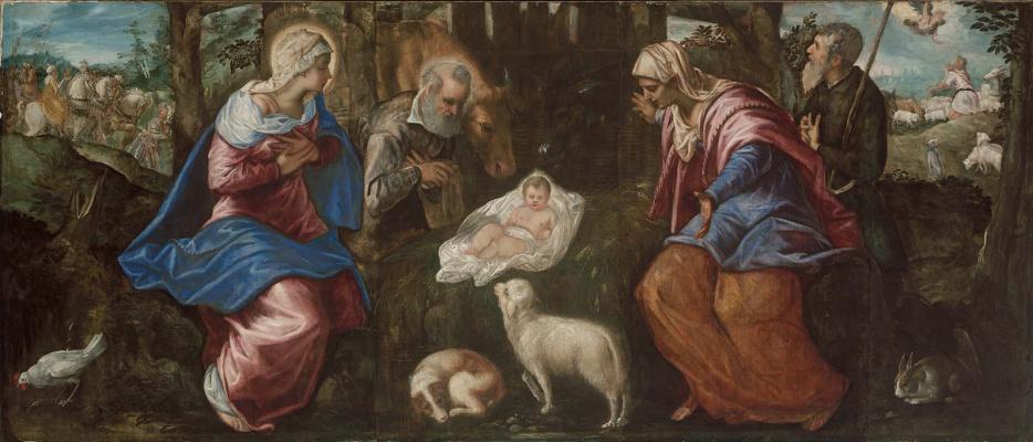 Jacopo (Robusti) Tintoretto. Christmas