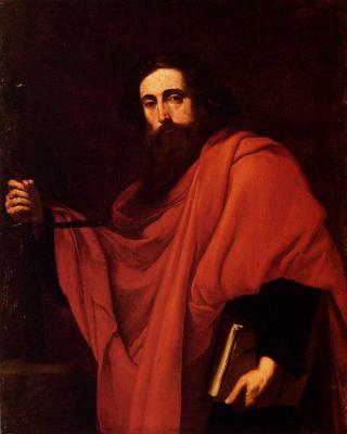 Jose de Ribera. Saint Paul