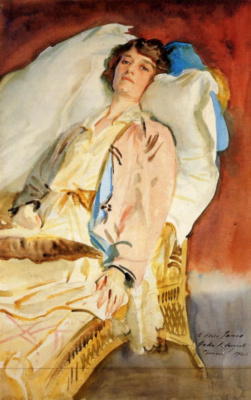John Singer Sargent. Alice Runnels James