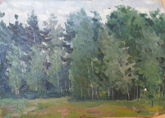 Василий Петрович Харламов. Лес