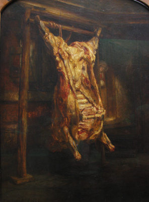 Rembrandt Harmenszoon van Rijn. Beef carcass