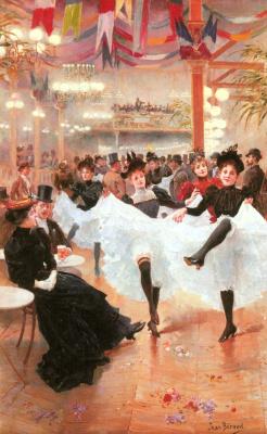 Jean Bero. In the cafes of Paris