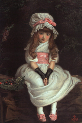 John Everett Millais. Ripe cherry