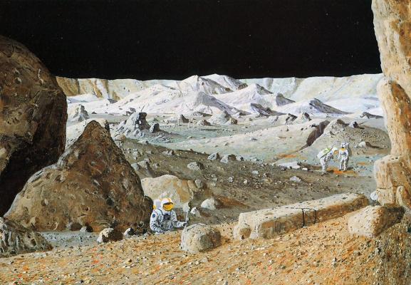 Уильям Хартманн. Тихий кратер